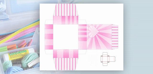 החומרים: מדפסת נייר הדפסה בריסטול עבה מספריים דבק    אופן ההכנה: להדפיס את תבניות הקופסה. ניתן לבחור בצבעים הבאים: ירוק כתום ורוד סגול לגזור מסביב לקווי המתאר […]