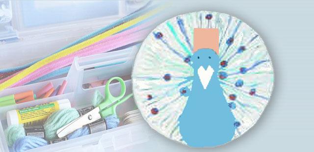החומרים: צלחת נייר מדפסת נייר חלק טושים (רצוי בצבעים כחול, ירוק וסגול) צבעי גואש/מים (כחול, ירוק, סגול-כהה, תפוז ו/או זהב) צבעים רגילים מספריים דבק מהדק סיכות    […]
