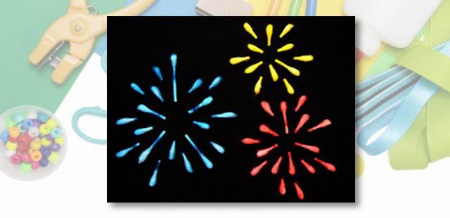 החומרים: מנקי אוזניים מים קערית פלסטיק קטנה צבעי מאכל צלחת נייר בריסטול שחור דבק  הערה: לקבלת אפקט צבעוני יותר מומלץ להשתמש בצבעי מאכל רבים ככל שמתאפשר.   […]