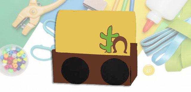 החומרים: קופסה מלבנית (של ניירות טישו או נעליים) נייר עטיפה חום (או כל צבע אחר שתבחרו) בריסטול צבעוני (לפי בחירתכם) בריסטול שחור טושים דבק אפשרות: אפשר להוסיף לכרכרה גלגלים […]