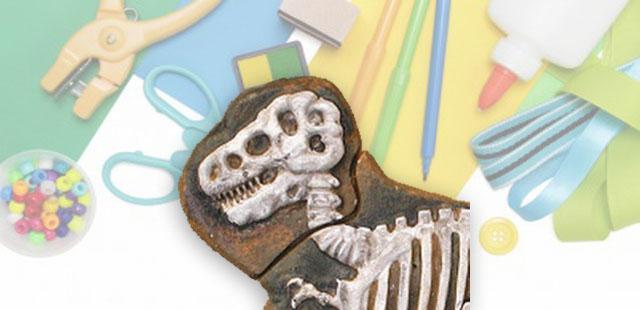החומרים: מחקים בצורת דינוזאורים גבס תבניות להכנת קוביות קרח   אופן ההכנה:  שמים את המחקים בתבניות קטנות (ומפורדות!) ליצירת קוביות קרח. שמים בכל תבנית את מחק הדינוזאור, […]
