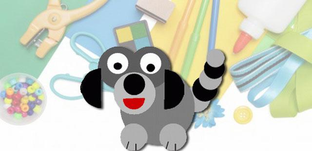 החומרים: מדפסת נייר מספריים דבק בריסטול    אופן ההכנה:  להדפיס את תבנית פני הכלב. להדביק על בריסטול ולגזור את החלקים. ליצירת הראש: להדביק את שני העיגולים […]