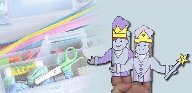 החומרים: מדפסת נייר הדפסה 2 גלילי נייר טואלט ריקים צבעים מספריים דבק       אופן ההכנה:  להדפיס את תבנית המלך ותבנית המלכה. לצבוע את […]