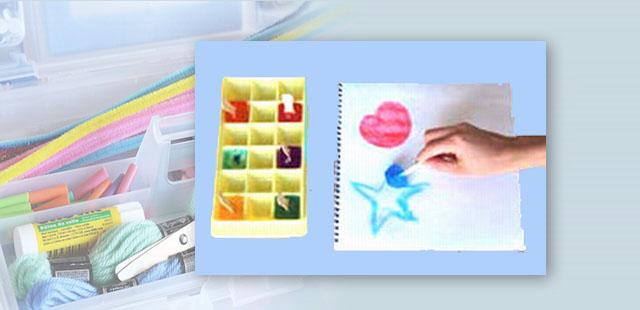 החומרים: מגש קוביות קרח קעריות פלסטיק קטנות כפיות פלסטיק צבעי מאכל מספריים ניירות לציור מקלות ארטיק     אופן ההכנה: 1.לצקתלקעריות הפלסטיק צבעי מאכל בסיסיים (אדום, כחול, […]