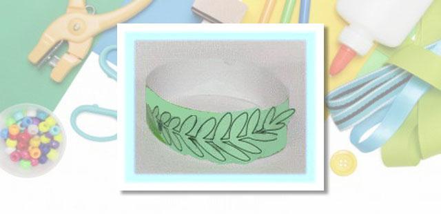 """החומרים: מדפסת נייר הדפסה בריסטול מספריים מהדק סיכות/דבק צבעים    אופן ההכנה:  להדפיס את תבנית העלים ולצבוע. לגזור מהבריסטול רצועה ברוחב של כ-4 ס""""מ. למדוד את […]"""