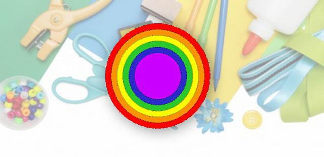 החומרים: בריסטולים בצבעים הבאים: אדום, כתום, צהוב, ירוק, כחול וסגול (או וורוד אם יש קושי להשיג בצבע סגול), עיפרון ומספריים.    אופן ההכנה:  מכל בריסטול לגזור […]