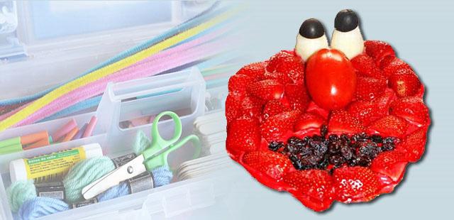 החומרים: תותים טריים, חתוכים לאורך לחצאים שמנת מתוקה תפוח אדמה לא מבושל – חתוך לשני חצאים לאורך זית שחור חתוך לשני חצאים צבע מאכל אדום עגבנייה בצורה מוארכת צימוקים […]