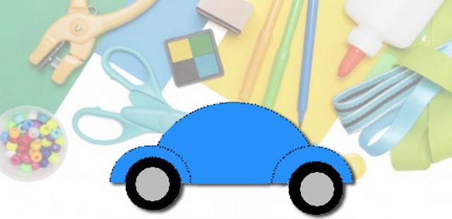 החומרים: נייר הדפסה אפשרי: בריסטול מספריים דבק טוש שחור אפשרות: נייר אלומיניום    אופן ההכנה: להדפיס את תבנית המכונית. להדביק את חצי העיגול הגדול למרכז הדף (נייר […]